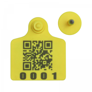 UHF Sheep Cow Cattle Animal RFID Ear Tag for Farm smart management