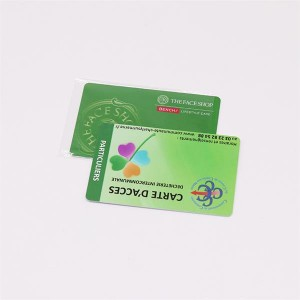 T5577 Mifare desfire 4k Dual Frequency Chip RFID Card