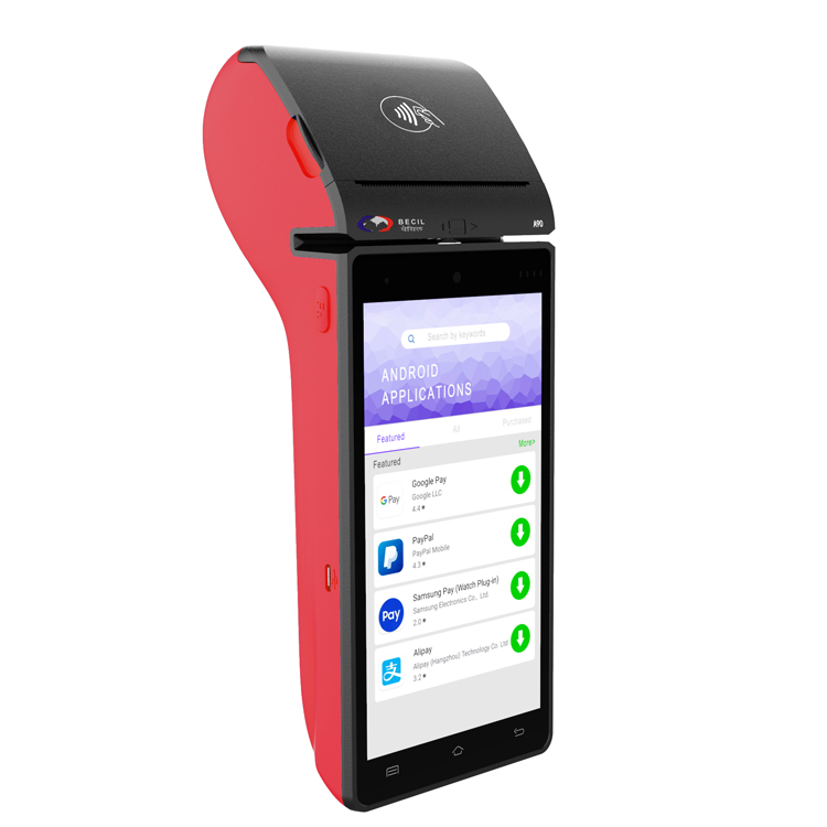 Portable POS machine android pos system cash Featured Image