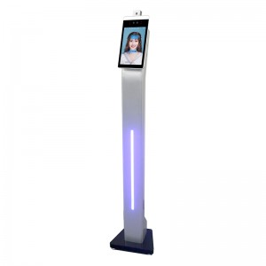 OEM Customized Tarjeta Ntag 215 - Facial Recognition Camera Thermal Time Attendance with Infrared thermometertemperature MeasurementTemperature Body Face RecognitionTemperature Body Face Recogni...