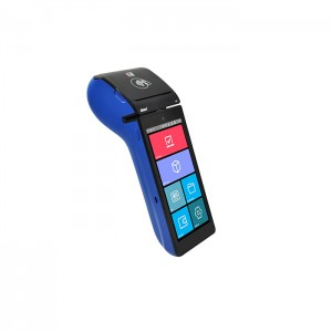 Android 5.5 inch Handheld Touch Screen EMV POS Terminal