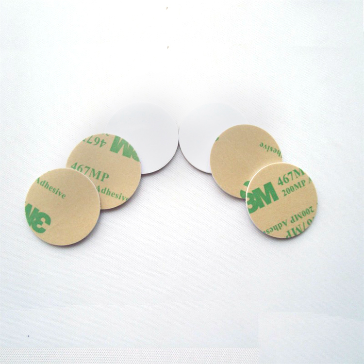Blank RFID sticker on metal NFC coin Tag Featured Image