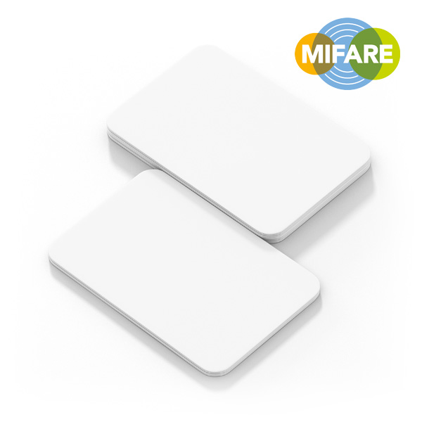 Blank white NFC PVC ntag 215 card Featured Image