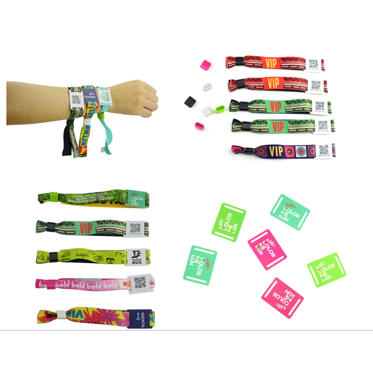 Mifare 1k music festival fabric woven nfc wristband Featured Image