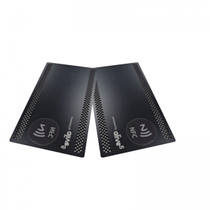 Contactless ID IC Smart RFID Chip stainless steel NFC Metal Card