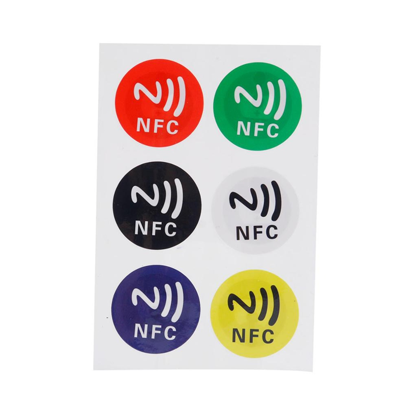 Custom NTAG215 NFC Sticker tag Featured Image