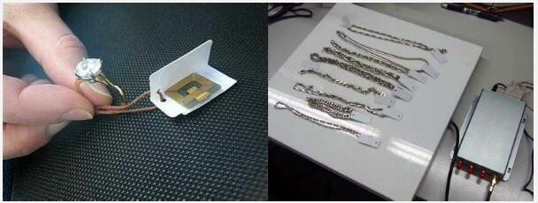 RFID Jewelry identification and management